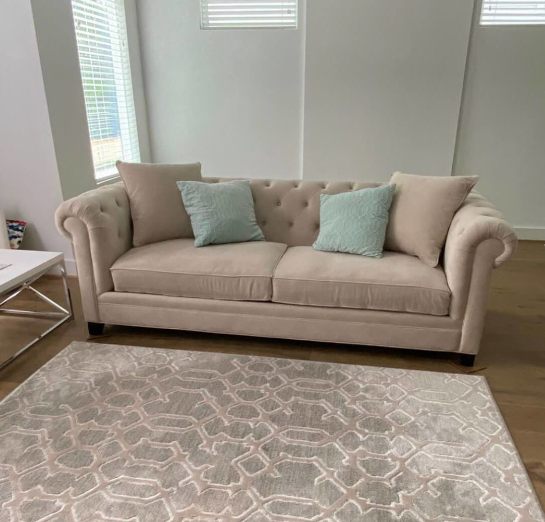 Martha Stewart Saybridge sofa color comparison