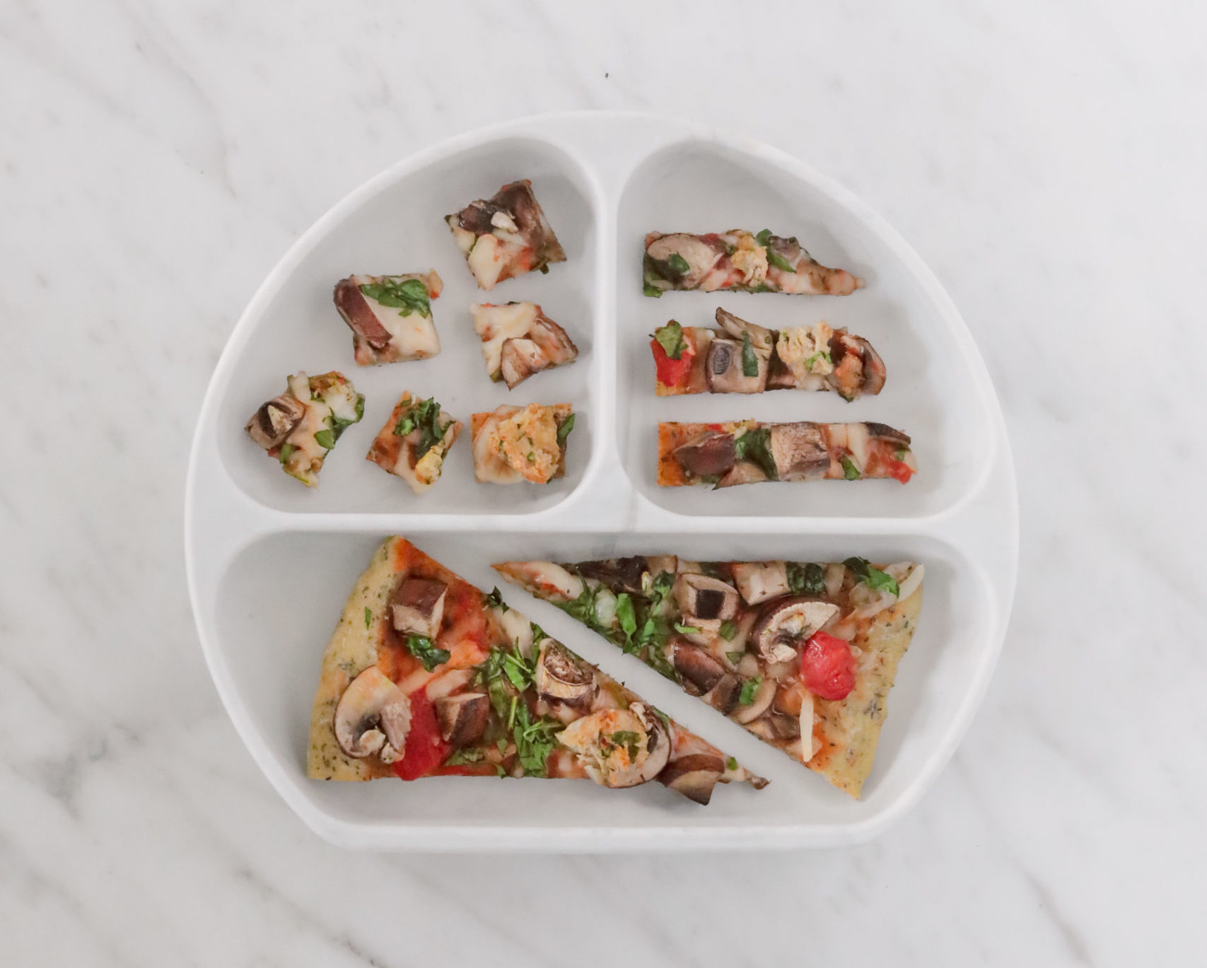 dairy free pizza toddler meal recipe