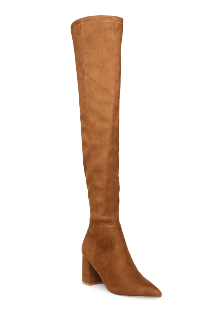 Steve Madden OTK boots on sale petite review