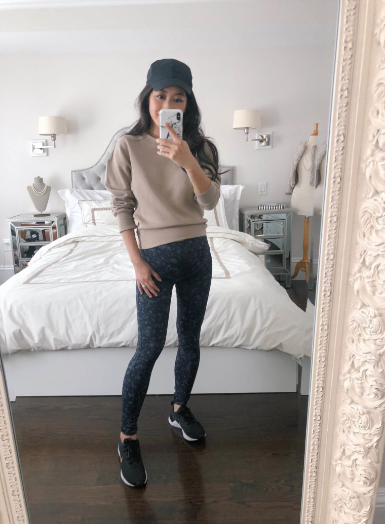 petite friendly Uniqlo leggings