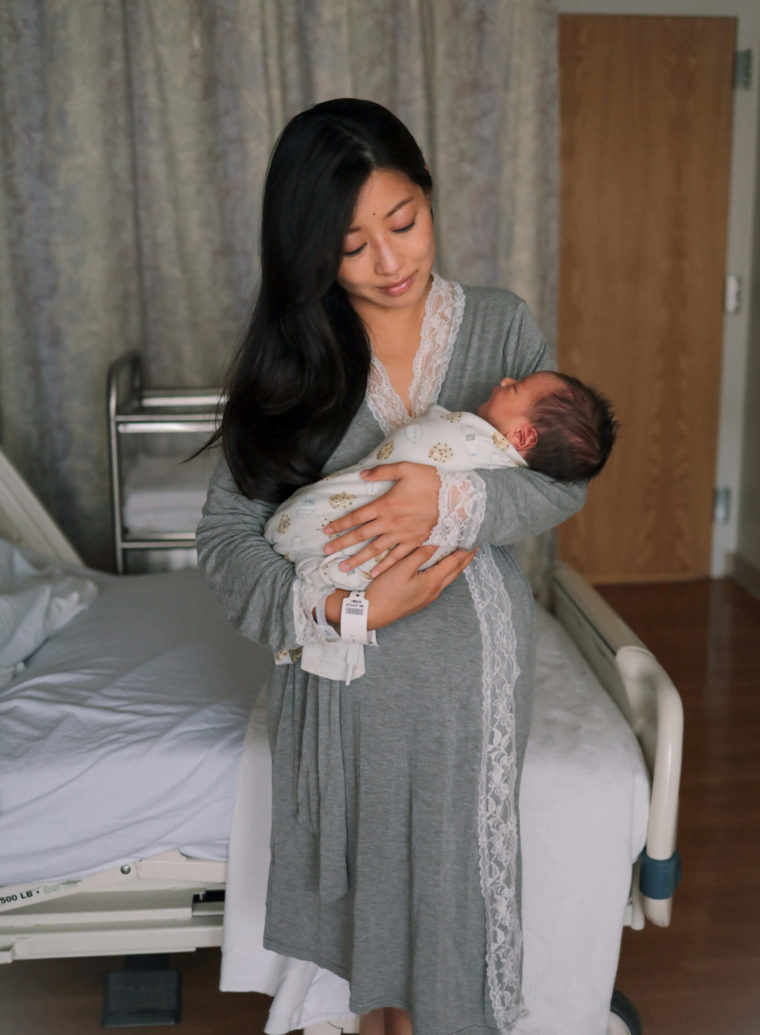 maternity robe beth israel hospital birth photos