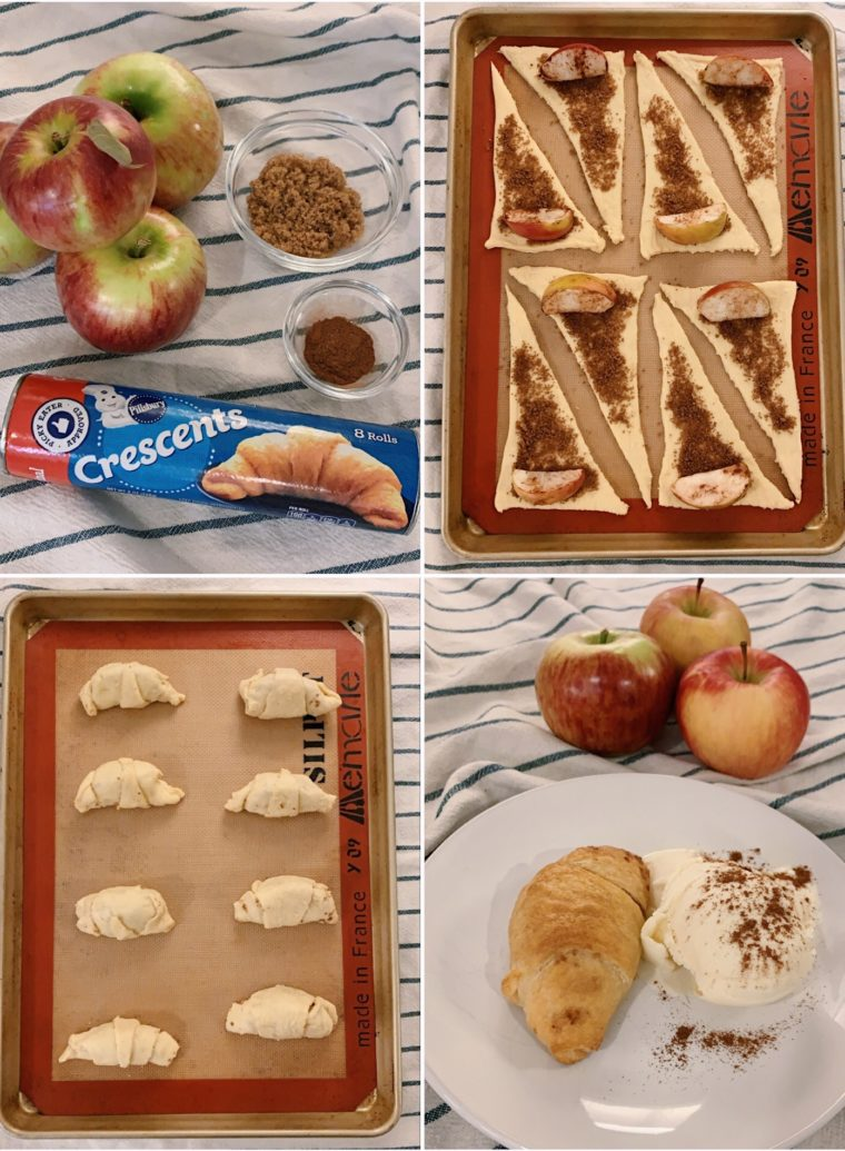 pillsbury mini apple pie triangles recipe
