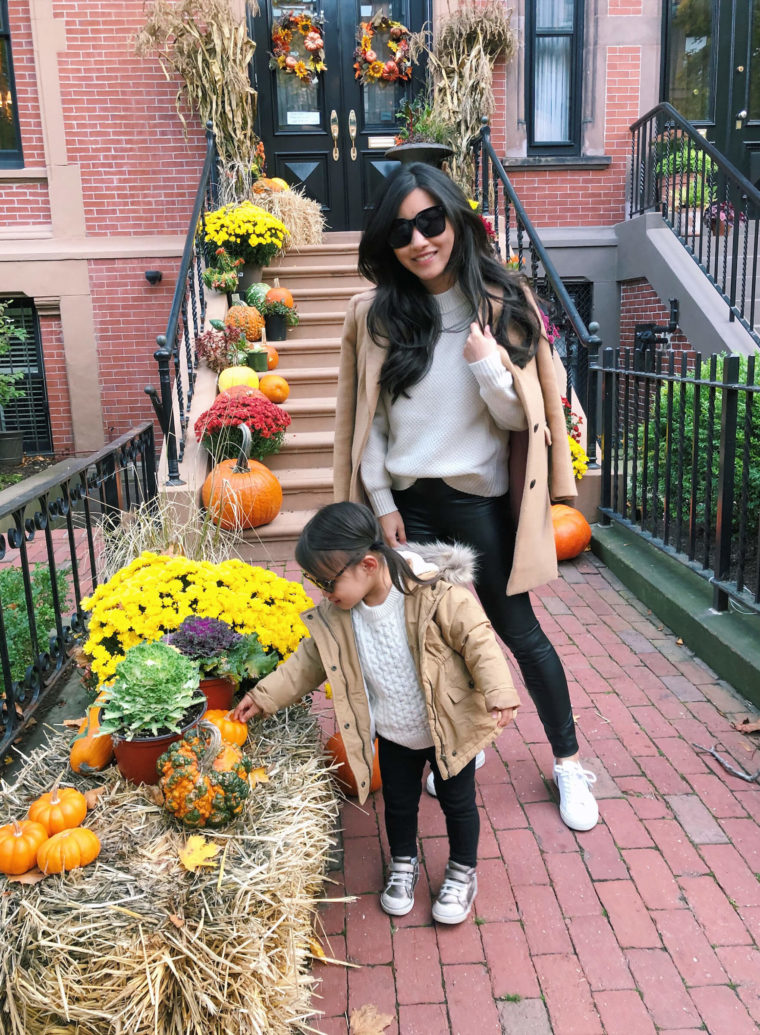 Mommy & Me fall matching fall outfits