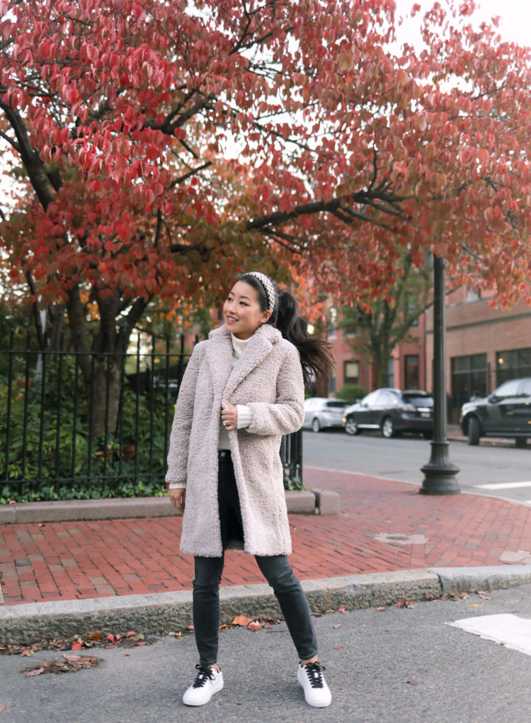 JCrew petite teddy coat review
