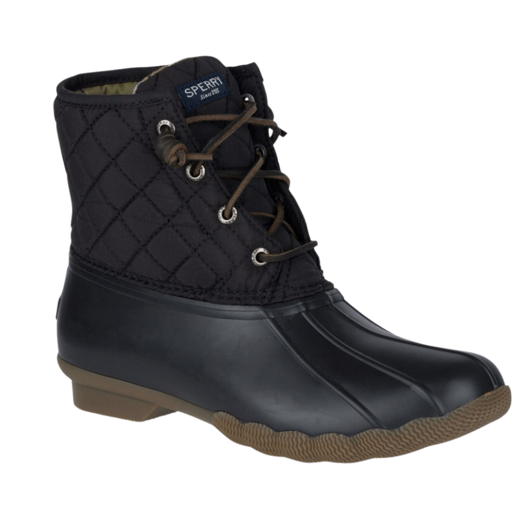 Sperry saltwater boots on sale