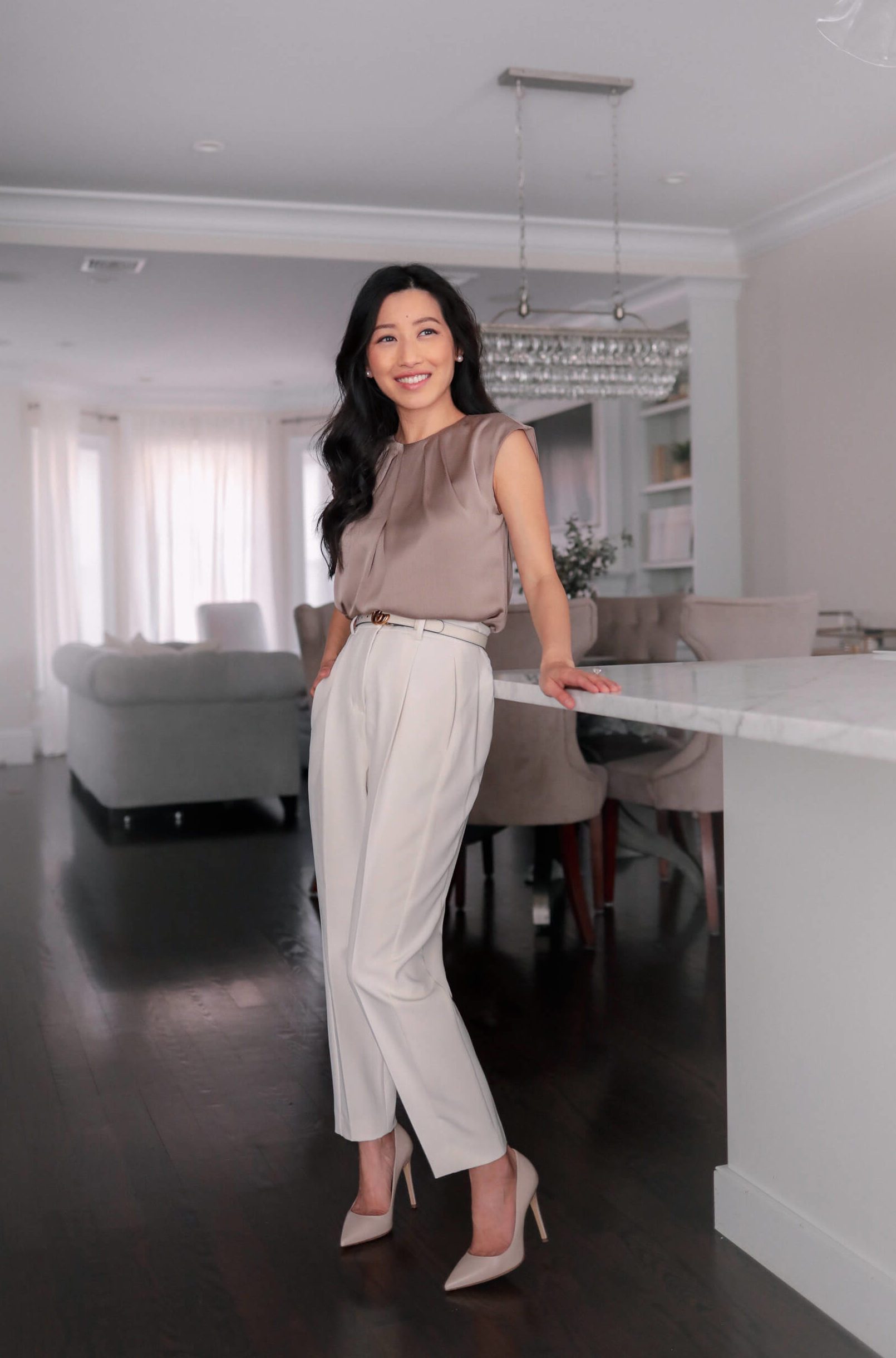 petite spring business work outfit ideas