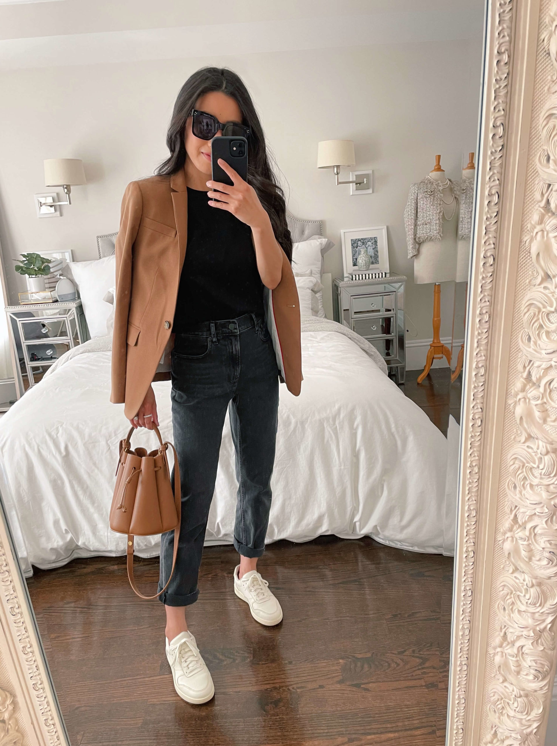 straight leg jeans business casual style