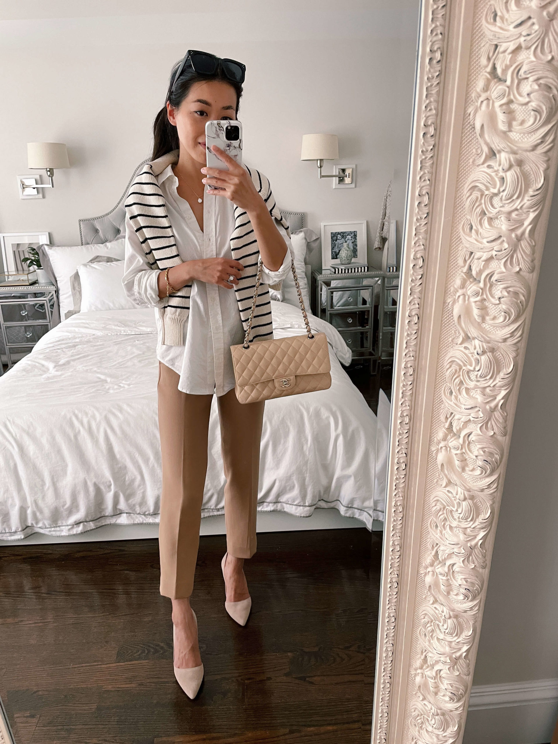 summer to fall business casual workwear