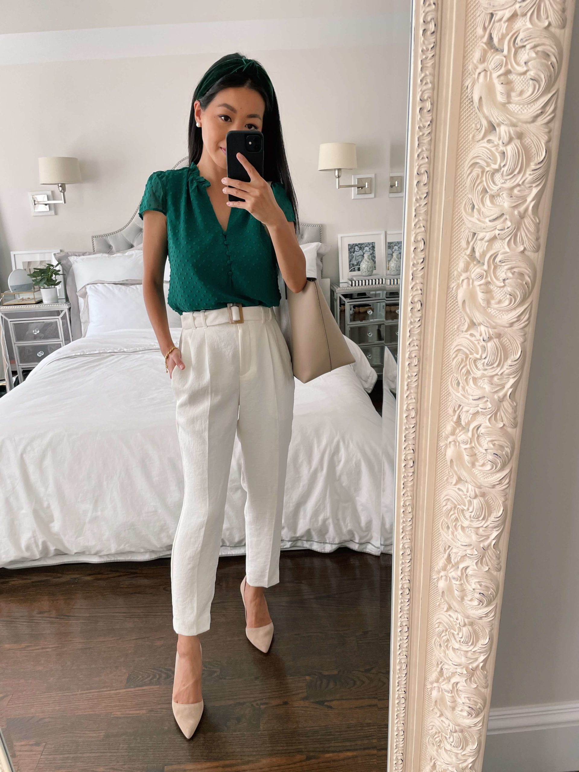 business casual petite workwear outfit