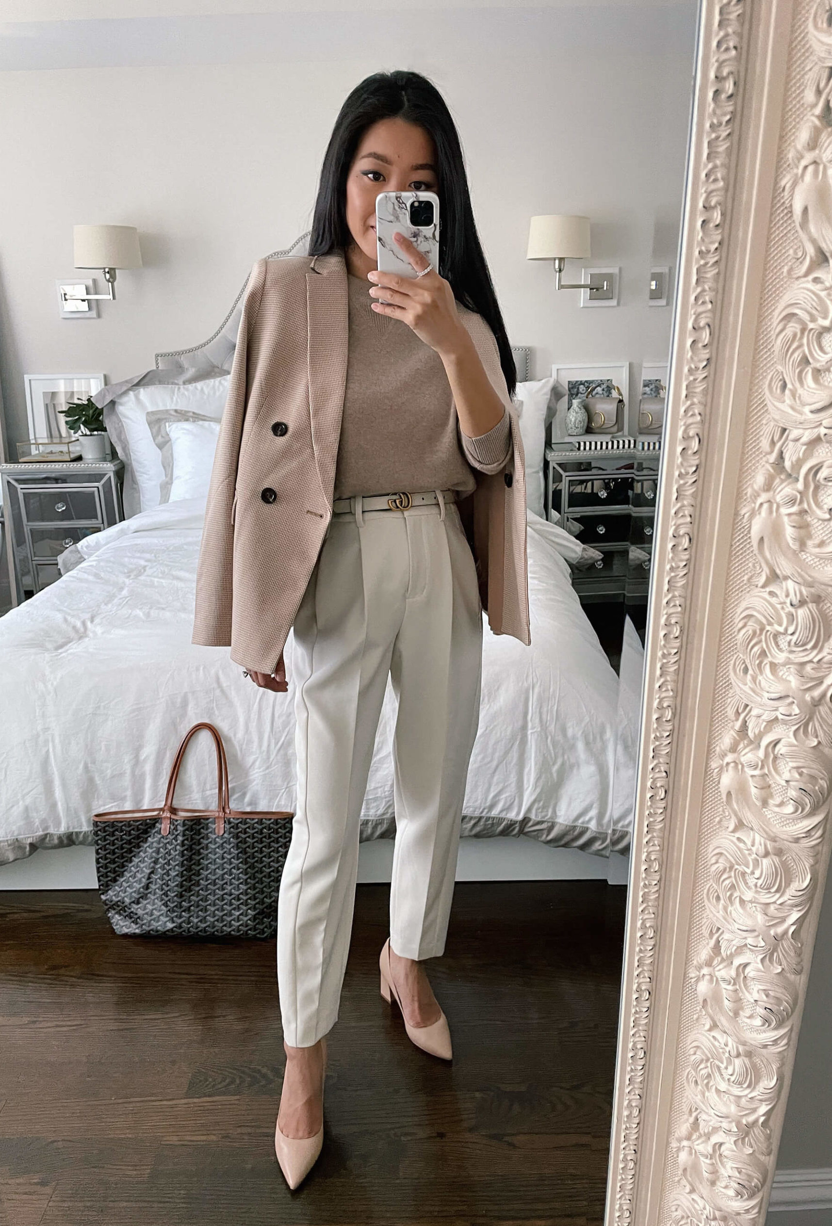 fall business formal outfit