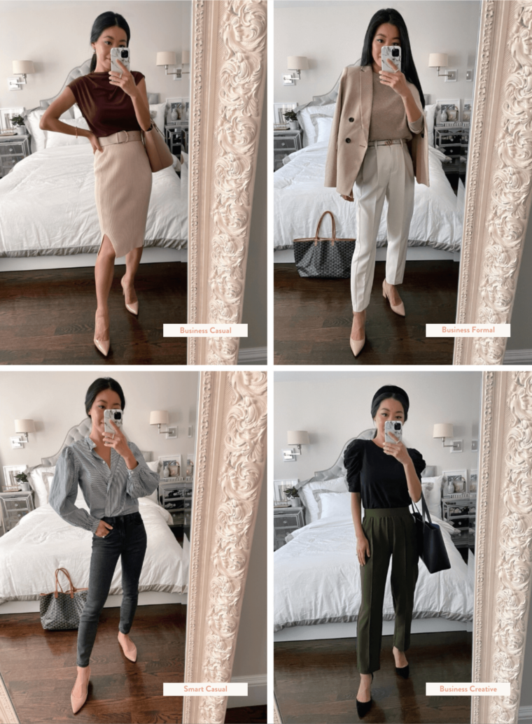 petite smart casual outfit