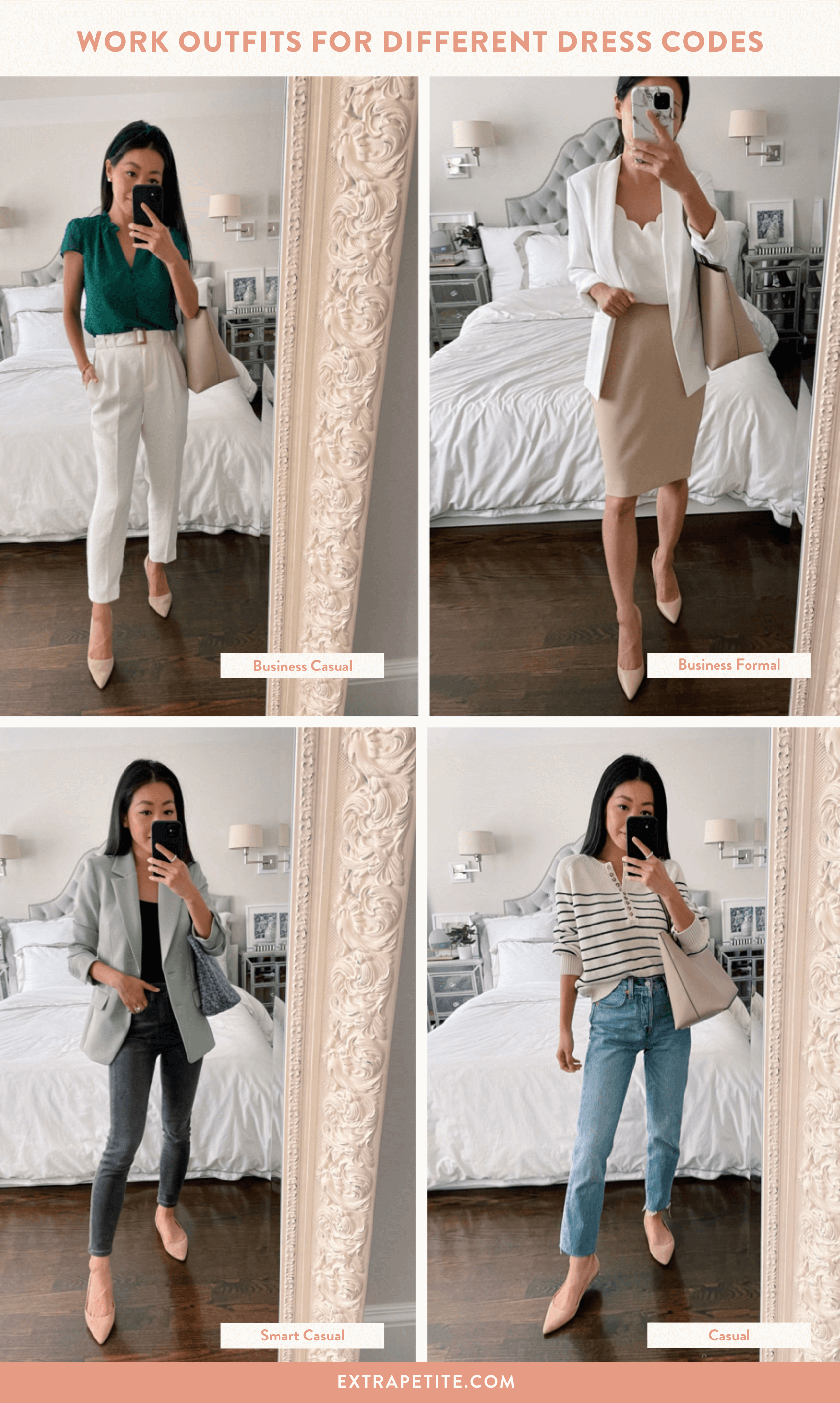 outfits for every work dress code
